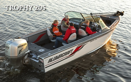 Alumacraft Trophy 205