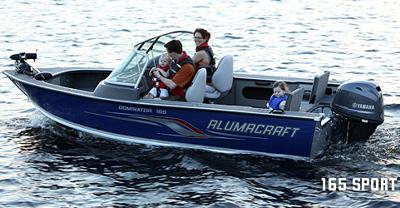 Alumacraft Dominator 165 Sport