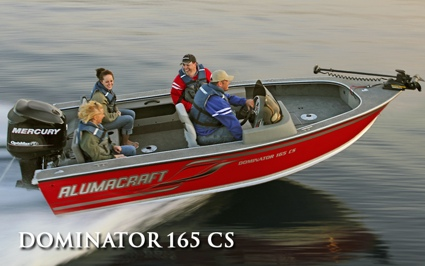 Alumacraft Dominator 165 CS