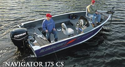 Alumacraft Navigator 175 CS