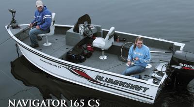Alumacraft Navigator 165 CS